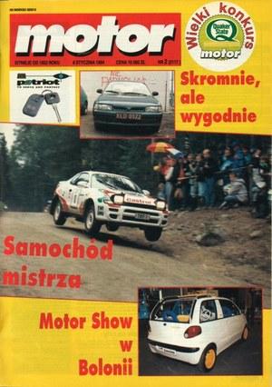 """""""Motor"""" nr 2 z 8 stycznia 1994 r. /Motor"""
