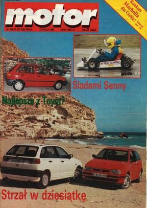 """""""Motor"""" nr 21 z 22 maja 1993 r. /Motor"""