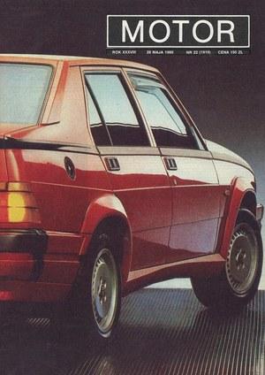 """""""Motor"""" nr 22 z 28 maja 1989 r. /Motor"""