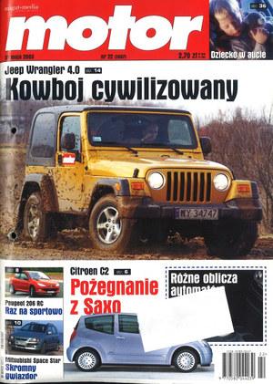 """""""Motor"""" nr 22 z 31 maja 2003 r. /Motor"""