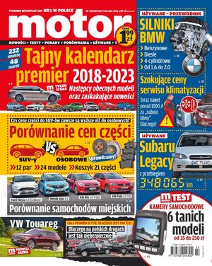 """""""Motor"""" nr 23/2018 /Motor"""