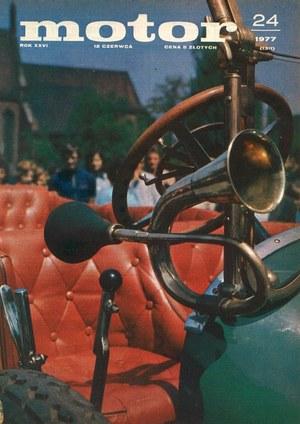 """Motor"" nr 24 z 12 czerwca 1977 r. /Motor"