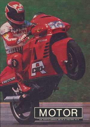 """Motor"" nr 25 z 18 czerwca 1989 r. /Motor"