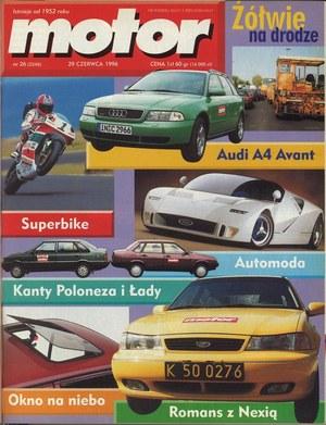 """Motor"" nr 26 z 29 czerwca 1996 r. /Motor"