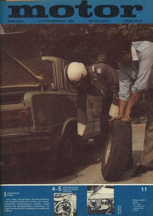 """""""Motor"""" nr 26 z 3 października 1982 r. /Motor"""
