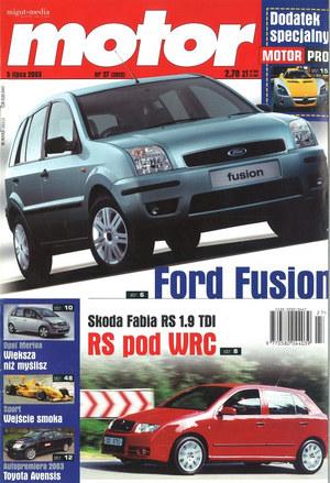"""""""Motor"""" nr 27 z 5 lipca 2003 r. /Motor"""