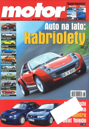 """""""Motor"""" nr 28 z 8 lipca 2003 r. /Motor"""