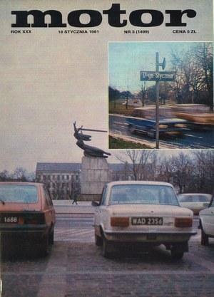 """""""Motor"""" nr 3 z 18 stycznia 1981 r. /Motor"""