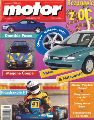 """""""Motor"""" nr 3 z 18 stycznia 1997 r /Motor"""