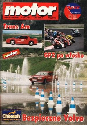 """""""Motor"""" nr 30 z 23 lipca 1994 r. /Motor"""