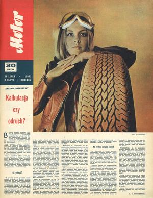 """""""Motor"""" nr 30 z 26 lipca 1970 r. /Motor"""