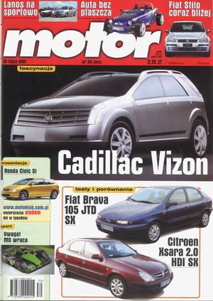 """""""Motor"""" nr 30 z 28 lipca 2001 r. /Motor"""