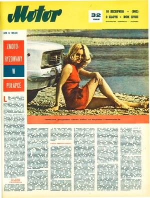 """""""Motor"""" nr 32 z 10 sierpnia 1969 r. /Motor"""