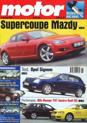 """""""Motor"""" nr 32 z 5 sierpnia 2003 r. /Motor"""