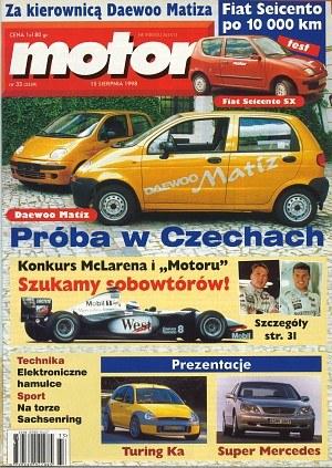 """""""Motor"""" nr 33 z 15 sierpnia 1998 roku /Motor"""