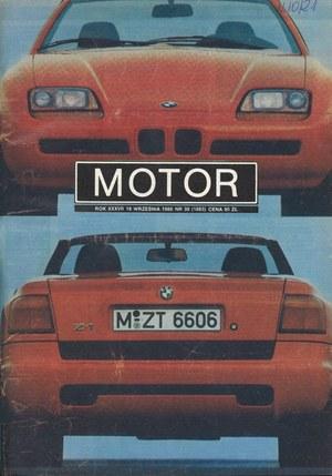 """Motor"" nr 38 z 18 września 1988 roku /Motor"