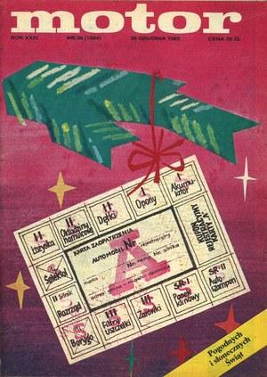 """""""Motor nr 38 z 26 grudnia 1982 r. /Motor"""