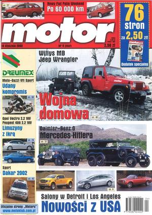 """""""Motor"""" nr 4 z 26 stycznia 2002 r. /Motor"""