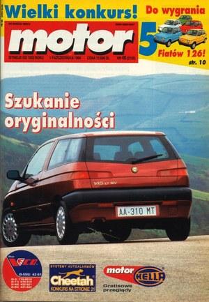 """""""Motor"""" nr 40 z 1 października 1994 r. /Motor"""