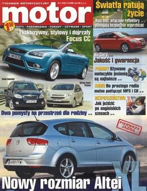 """""""Motor"""" nr 41 z 9 października 2006 r. /Motor"""