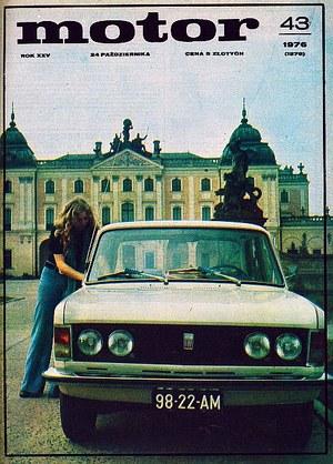 """""""Motor"""" nr 43 z 24 października 1976 r. /Motor"""