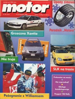 """""""Motor"""" nr 45 z 9 listopada 1995 roku /Motor"""