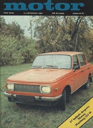 """""""Motor"""" nr 46 z 13 listopada 1983 roku /Motor"""