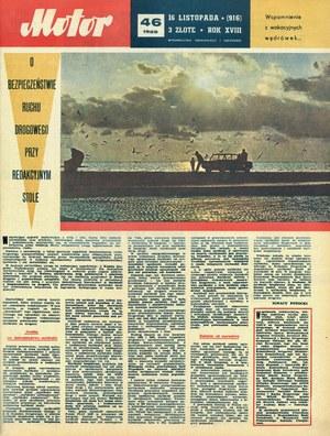 """""""Motor"""" nr 46 z 16 listopada 1969 r. /Motor"""