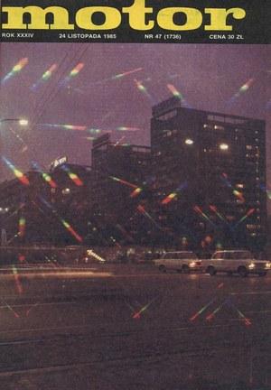 """""""Motor"""" nr 47 z 24 listopada 1985 r. /Motor"""