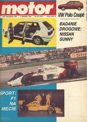 """""""Motor"""" nr 48 z 2 grudnia 1990 r. /Motor"""