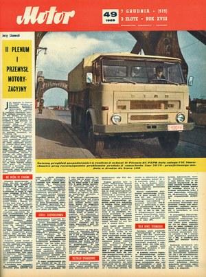 """""""Motor"""" nr 49 z 7 grudnia 1969 r. /Motor"""