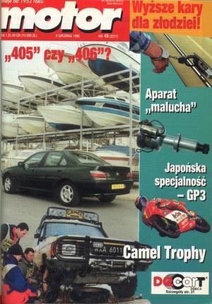 """""""Motor"""" nr 49 z 9 grudnia 1995 r. /Motor"""