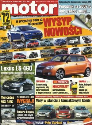 """""""Motor"""" nr 51-52 z 18 grudnia 2006 r. /Motor"""