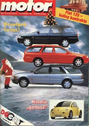 """""""Motor"""" nr 51-52 z końca 1995 r. /Motor"""