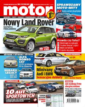 """""""Motor"""" nr 6/2014 /Motor"""