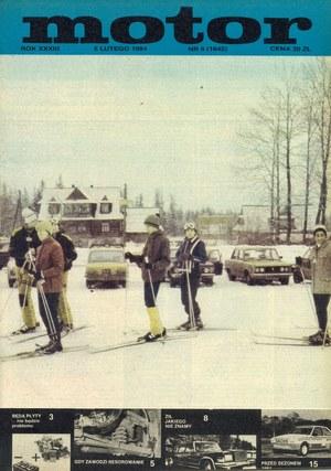 """""""Motor"""" nr 6 z lutego 1984 r. /Motor"""
