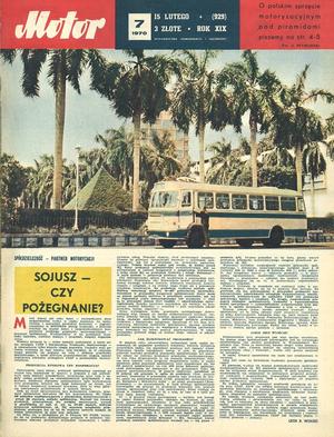 """""""Motor"""" nr 7 z 15  lutego 1977 r. /Motor"""