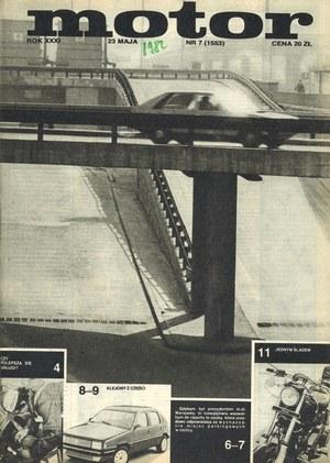 """""""Motor"""" nr 7 z 23 maja 1982 r. /Motor"""