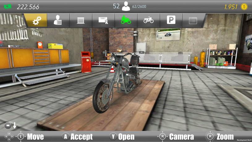 Motorcycle Mechanic Simulator /materiały prasowe