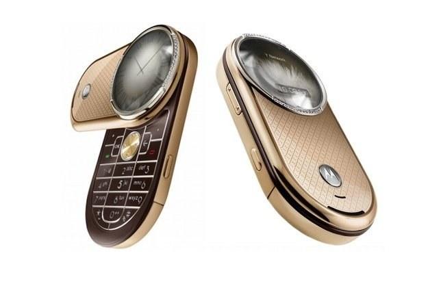 Motorola Aura Diamond. Najdroższy fabryczny telefon w Polsce /materiały prasowe