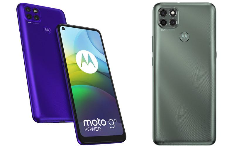 Motorola G9 Power /materiały prasowe