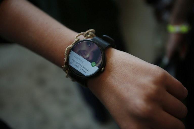 Motorola Moto 360 /AFP