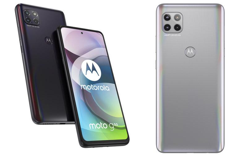 Motorola Moto G 5G /materiały prasowe
