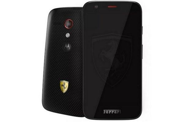 Motorola Moto G Ferrari Edition /materiały prasowe