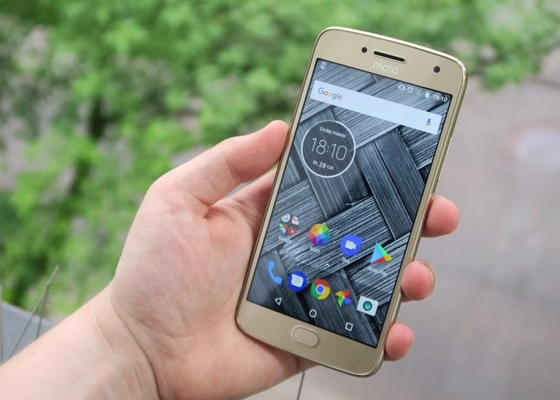 Motorola Moto G5 Plus /INTERIA.PL