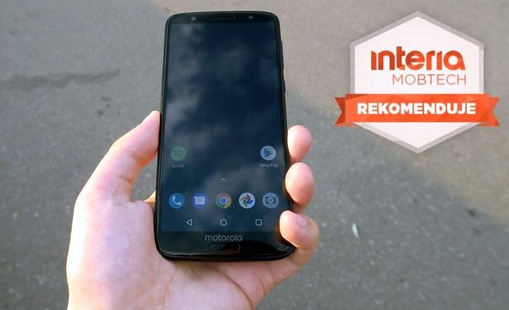 Motorola Moto G6 otrzymuje Rekomendację serwisu Interia Mobtech /INTERIA.PL