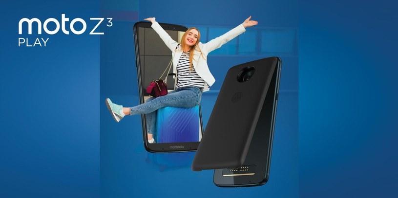 Motorola Moto Z3 Play /materiały prasowe