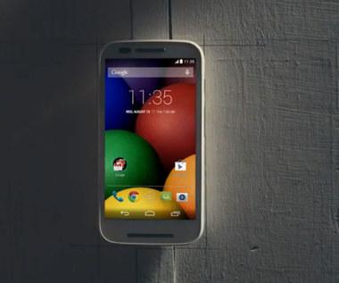 Motorola ujawnia Moto E