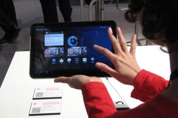 Motorola Xoom - pierwszy tablet, na którym zaprezentowano Androida 3.0 /AFP