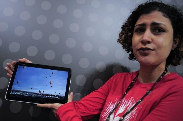 Motorola Xoom z Androidem 3.0 - jeden z konkurentów... no właśnie - iPada 1 czy iPada 2? /AFP